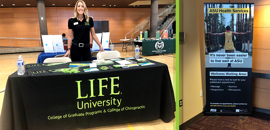 LIFEforce Tribe Member, Dr. Kim Bender had the opportunity to share information about Health, Chiropractic and LIFE University to students and advisors at Clearwater High School.